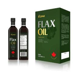 (代发)加拿大进口富乐嘉亚麻籽油500ml*2瓶礼盒装