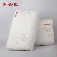 (代发)润荟圆-天然乳胶枕经典款RHY-003按摩枕1+1组(枕头*2)