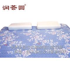 (代发)润荟圆-四季天然乳胶软垫双面软席1.5米【尺寸:150*200*1cm】