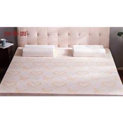 (代发)618年中庆-润荟圆高密度天然乳胶床垫套组射科特工艺1.5米(赠床垫外套*1、工学枕*2)