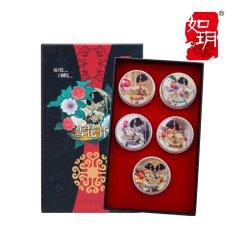(代发)如玥-老上海5款雪花膏礼盒装(栀子花、桂花、夜来香、夜玫瑰、茉莉花)