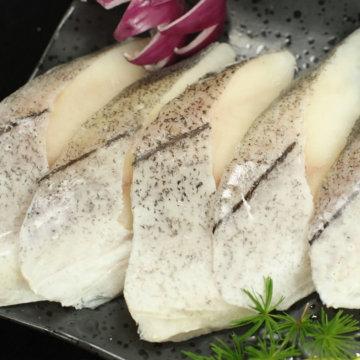 美国阿拉斯加深海鳕鱼超值组(鳕鱼带皮去刺切段500g/袋*9)
