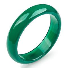 (代发)冰透绿色玉髓正装手镯【56、57、58、59、60、61、62、63、64】 57 无