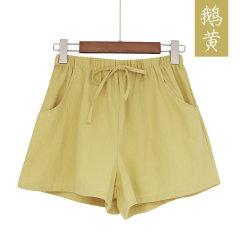 (代发)韩版运动休闲热裤宽松大码百搭短裤HBF2139 无 灰色:S