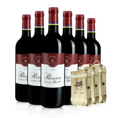 2020年中庆-法国原瓶原装拉菲珍藏干红葡萄酒超值特惠组(红葡萄酒750ml*6、赠双木盒*3)