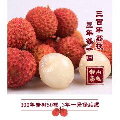 南山西丽果场300年古树南山糯米糍荔枝(糯米糍荔枝*5斤)