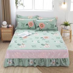 (代发)VIPLIFE-精梳全棉单件床裙1.5米【150*200CM】 一颗柠檬 无