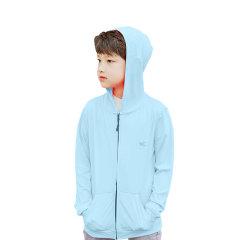 (代发)VVC-中童防晒衣【可选颜色:荧光黄、蓝色、粉色】 蓝色 无