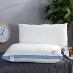 (代发)VIPLIFE枕芯蓝边整张棉热熔枕头高端亲肤款(枕头*1)