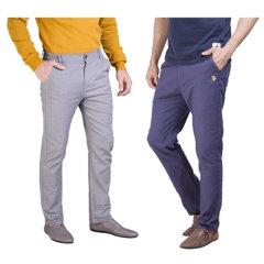 (代发)美国U.S.POLOASSN新款亚麻男款亚麻裤(亚麻裤*1)【可选颜色:蓝色、灰色】 无 灰