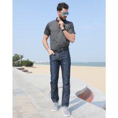(代发)CELE男款夏季轻薄款牛仔裤(牛子裤*1)【可选颜色:浅蓝、深蓝、蓝黑】 无 浅蓝:34