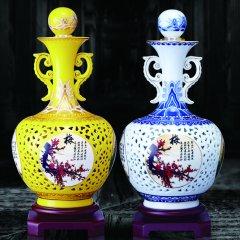 贵州茅台集团茅乡玉液收藏酒(白酒1.5L/樽*2、收藏证书*2本、木质底座*2个)