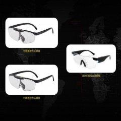 斯瑞博格可翻盖放大式眼镜组(翻盖放大式眼镜*2、赠LED照明放大式眼镜*1)