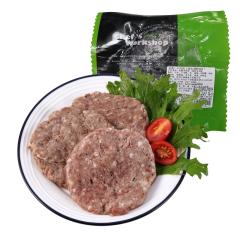 (代发)美式早餐牛肉饼100g/10片装方便速食汉堡饼冷冻生鲜