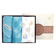 (代发)洁丽雅优棉3(格调面巾*1、秀色面巾*1、棉柔巾*1) 无 粉色