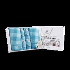 (代发)洁丽雅秀色8(素方巾*2、素面巾*2、格浴巾*2) 无 固态/粉