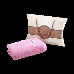 (代发)洁丽雅秀色-1素面巾*1 无 粉色