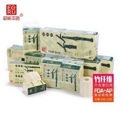 超级会员日-韶能本色竹纤维卫生纸50+60+18抢购组