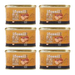 13周年庆抢购-澳弗森西式午餐肉198g/罐*6