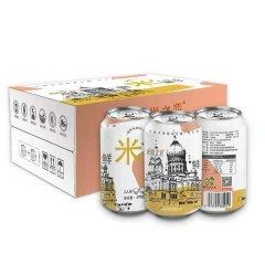 (代发)哈米之恋易拉罐稻花香大米270g/罐*12