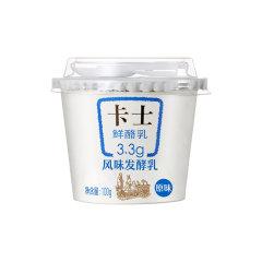 (代发)卡士3.3鲜酪乳100g/杯*24【配送区域:深圳市】
