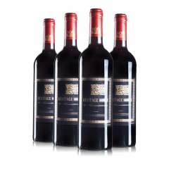 法国进口赫里蒂岭干红葡萄酒超值组(葡萄酒750ml/瓶*4)