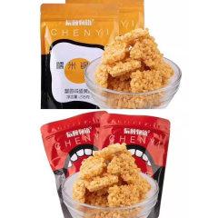 (代发)糯米锅巴原味&蟹黄味218g/袋*2