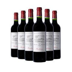 法国进口拉菲尚品波尔多干红葡萄酒尊享组(葡萄酒750ml/瓶*8、赠定制礼盒*4)