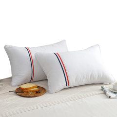 (代发)樵纪-全棉酒店织带枕头芯*1只【尺寸:48*74cm】