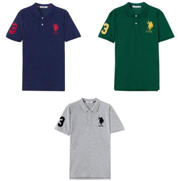 美国U.S.POLO  ASSN美式休闲T恤奢华组