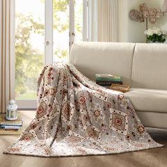 (代发)罗莱LOVO-加州风情毯*1【尺寸:150*200cm】