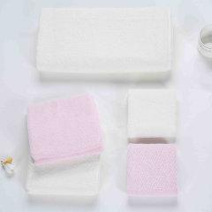 (代发)罗莱LOVO-爱家纯棉毛巾系列(毛巾*2、方巾*2、浴巾*1)