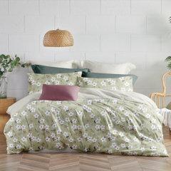 (代发)罗莱LOVO-全棉印花四件套花影如梦【被套:200*230cm】