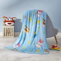 (代发)罗莱LOVO-超级飞侠法兰绒毯*1【尺寸:100*140cm】