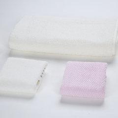 (代发)罗莱LOVO-爱家纯棉毛巾系列(毛巾*2、浴巾*1)