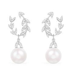 (代发)APM monaco-珍珠耳坠女耳环礼盒925银耳饰