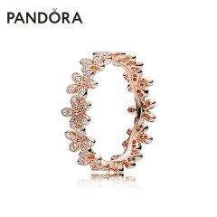 (代发)Pandora潘多拉-戒指女玫瑰金色炫目雏菊群 无 50