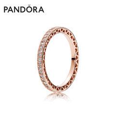 (代发)Pandora潘多拉-戒指女玫瑰金色潘多拉的心 无 50