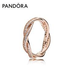 (代发)Pandora潘多拉-戒指女玫瑰金色命运之轮 无 50