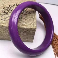 2021文博会-紫气东来紫云母套组(赠紫云母镶嵌两件套、水晶发财树) 紫色 大码