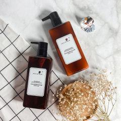 (代发)玫瑰人生-无硅油植物洗发护发套装(洗发露400ml/瓶*1、护发素400ml/瓶*1)