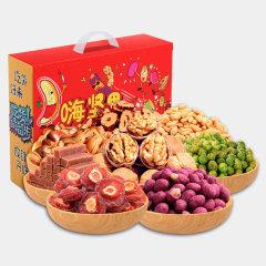 (代发)花蜜家坚果礼盒实惠装礼盒8包
