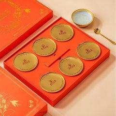 新加坡皇帝金碗燕窝超值组(金碗燕窝6碗/盒*2、赠金碗燕窝*2碗)
