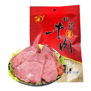 十月美松茸酱牛肉