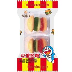(代发)大润谷-哆啦A梦汉堡糖双杯装16g/袋*10袋