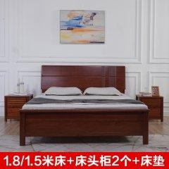 2021年中庆-艾居乐典雅卧室爆杀组(赠床头柜*2、床垫*1)