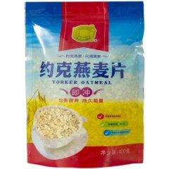 2021疯抢节-约克澳洲进口无添加燕麦片抢购组(燕麦*8袋、赠燕麦*1袋)【无糖型】