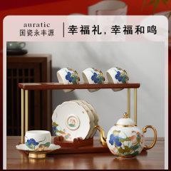 (代发)永丰源-幸福和鸣10头中式茶具