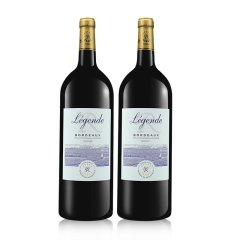 十二载·感恩回馈-法国原装进口拉菲传奇精选典藏套组(拉菲传奇1.5L/瓶*4、赠酒杯*4)