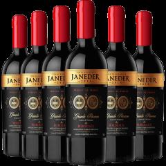杰纳德特级珍藏限量版波尔多干红葡萄酒尊享组(红酒750ml/瓶*6)